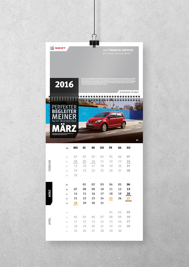 VWFS Kalender ©gobasil GmbH ~ Agentur für Kommunikation, Hamburg Hannover