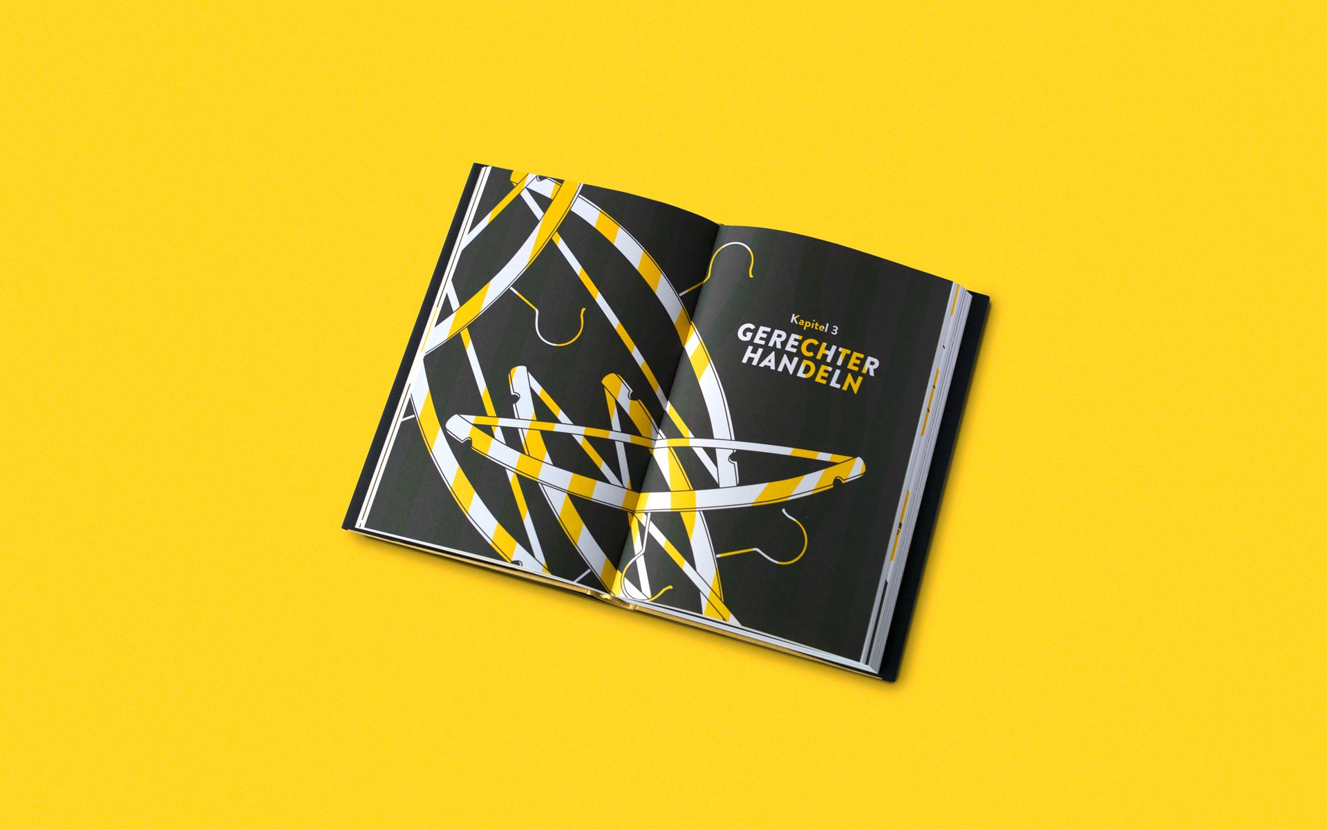 Funkenflug Buchdesign ©gobasil GmbH ~ Agentur für Kommunikation, Hamburg Hannover