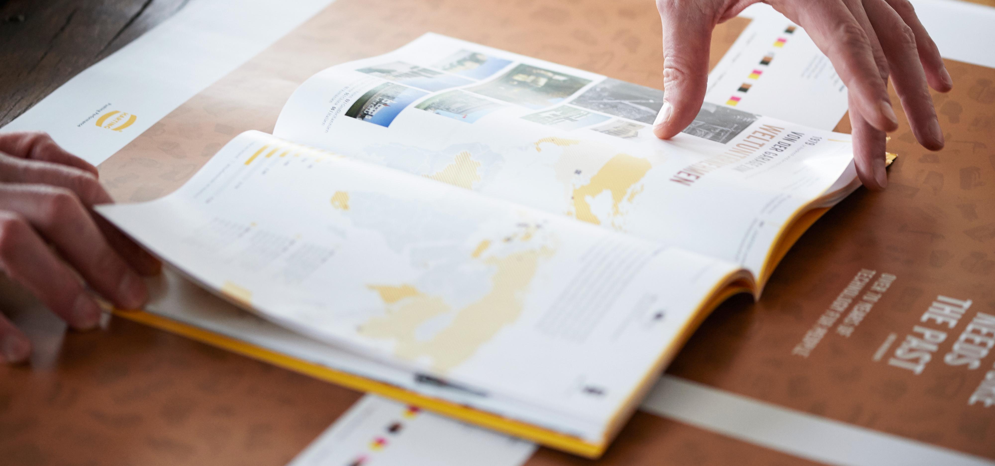 HARTING-Broschüre ©gobasil ~ Agentur für Kommunikation, Hamburg Hannover