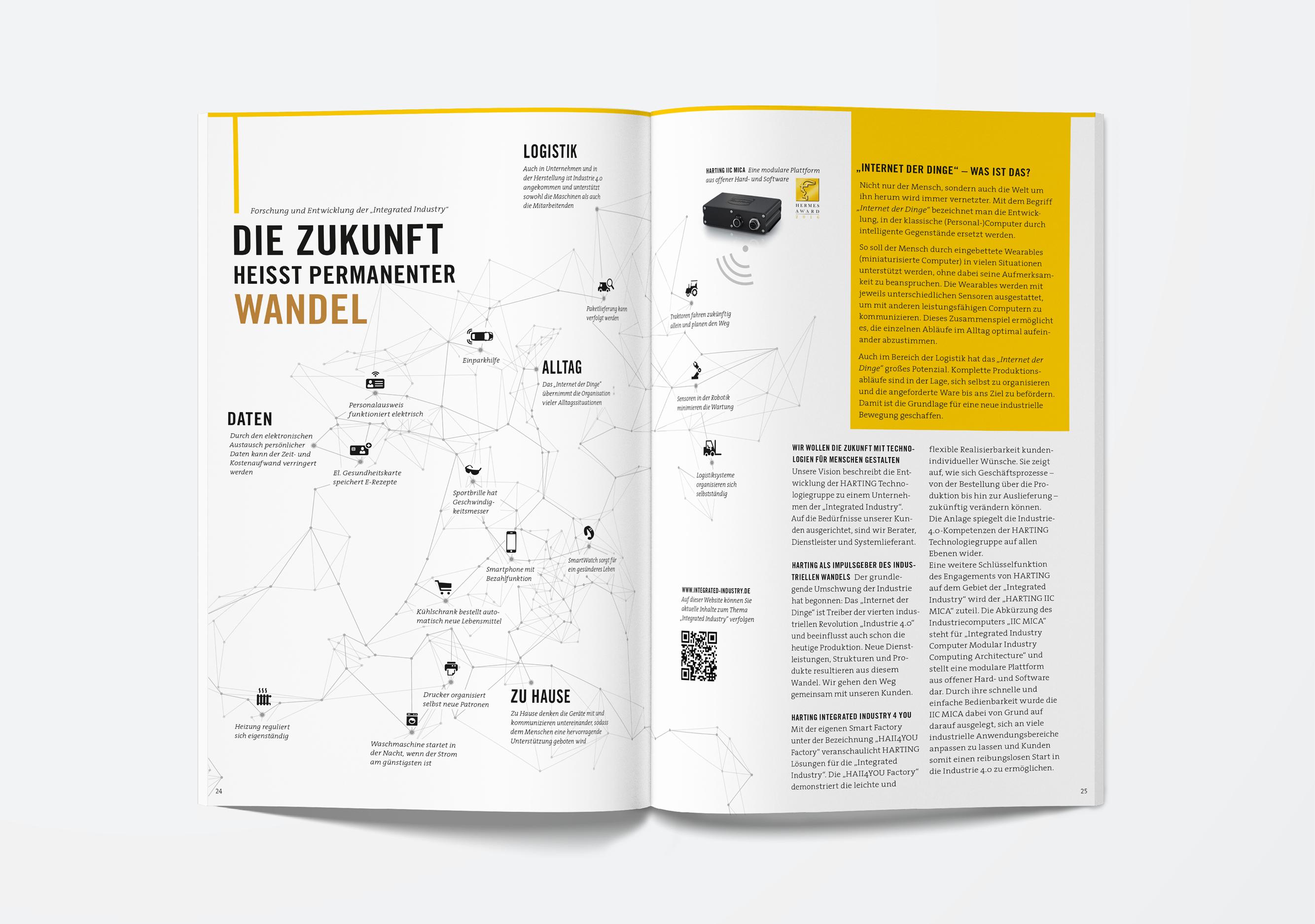 HARTING-Broschüre ©gobasil GmbH ~ Agentur für Kommunikation, Hamburg Hannover