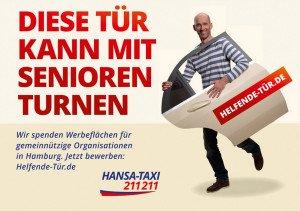 Hansa-Taxi ©gobasil GmbH ~ Agentur für Kommunikation, Hamburg Hannover