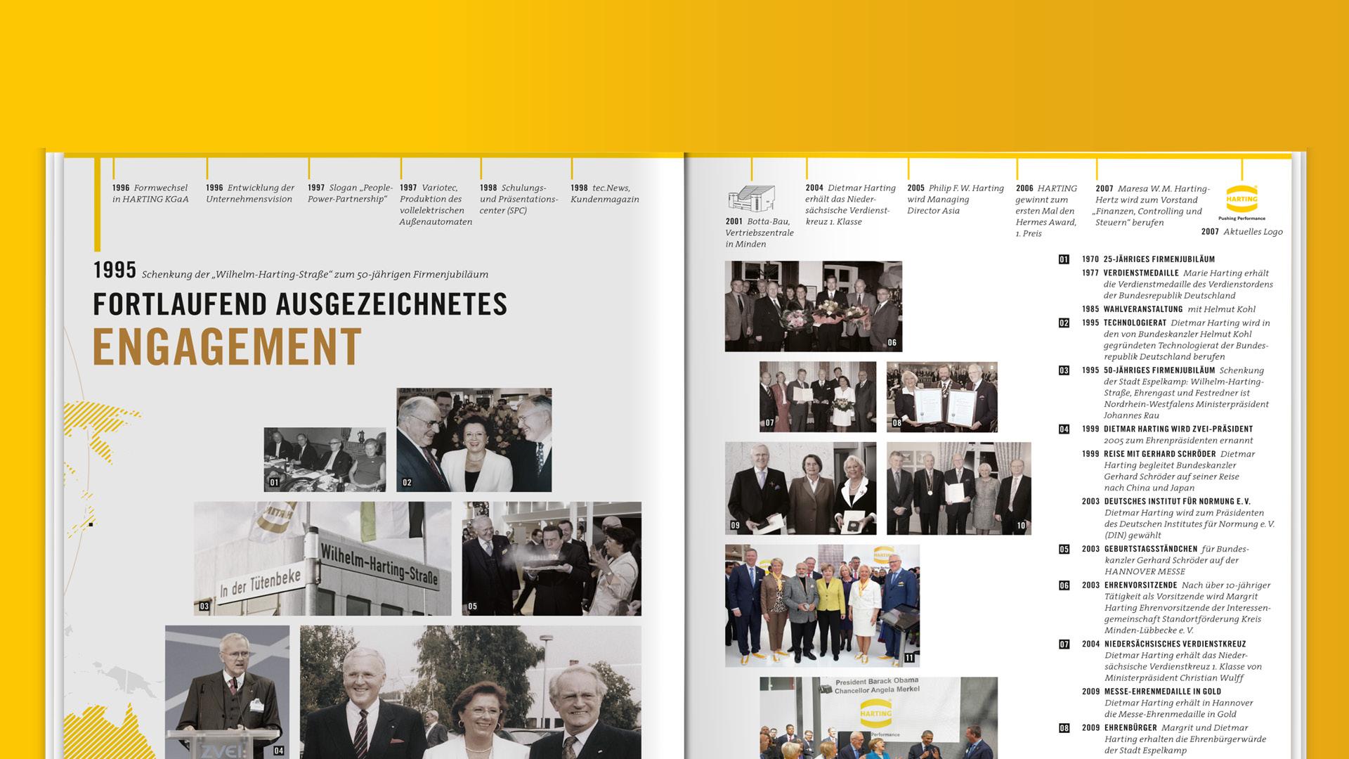 Ausschnitt HARTING-Broschüre ©gobasil GmbH ~ Agentur für Kommunikation, Hamburg Hannover