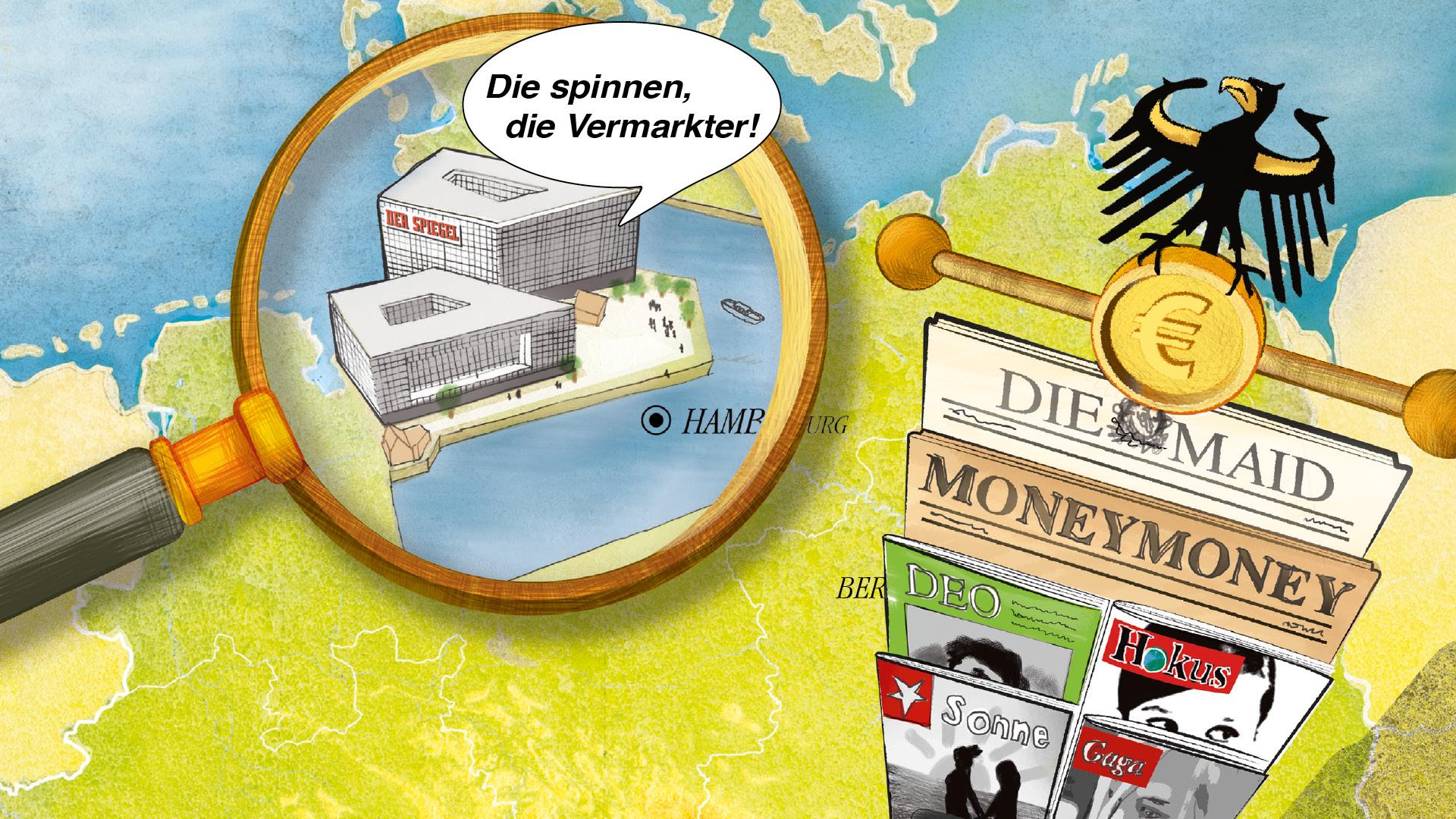 SPIEGEL QC Keyvisual ©gobasil GmbH ~ Agentur für Kommunikation, Hamburg Hannover