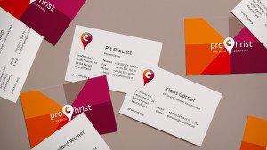 proChrist Geschäftsausstattung©gobasil GmbH ~ Agentur für Kommunikation, Hamburg Hannover