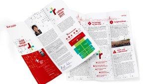 Reformationsjubiläum Flyer ©gobasil GmbH ~ Agentur für Kommunikation, Hamburg Hannover