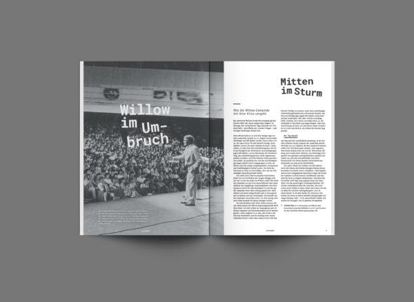 Magazin Willow Creek ©gobasil GmbH ~ Agentur für Kommunikation, Hamburg Hannover