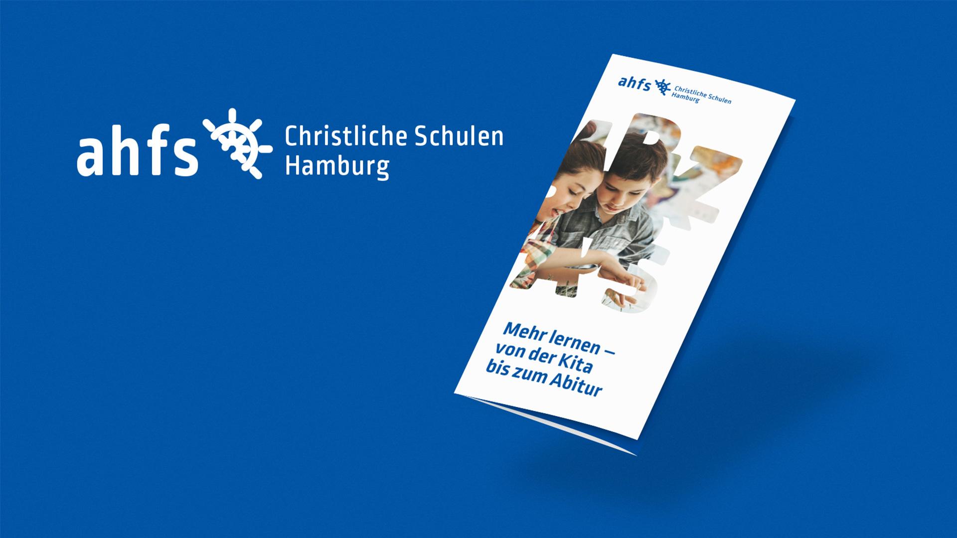 ahfs Flyer ©gobasil ~ Agentur für Kommunikation, Hamburg Hannover