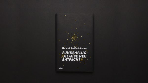 Heinrich Bedford-Strohm Funkenflug Buchdesign ©gobasil ~ Agentur für Kommunikation, Hamburg Hannover
