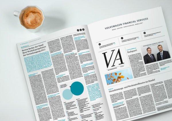 VWFS Vertriebszeitung ©gobasil ~ Agentur für Kommunikation, Hamburg Hannover