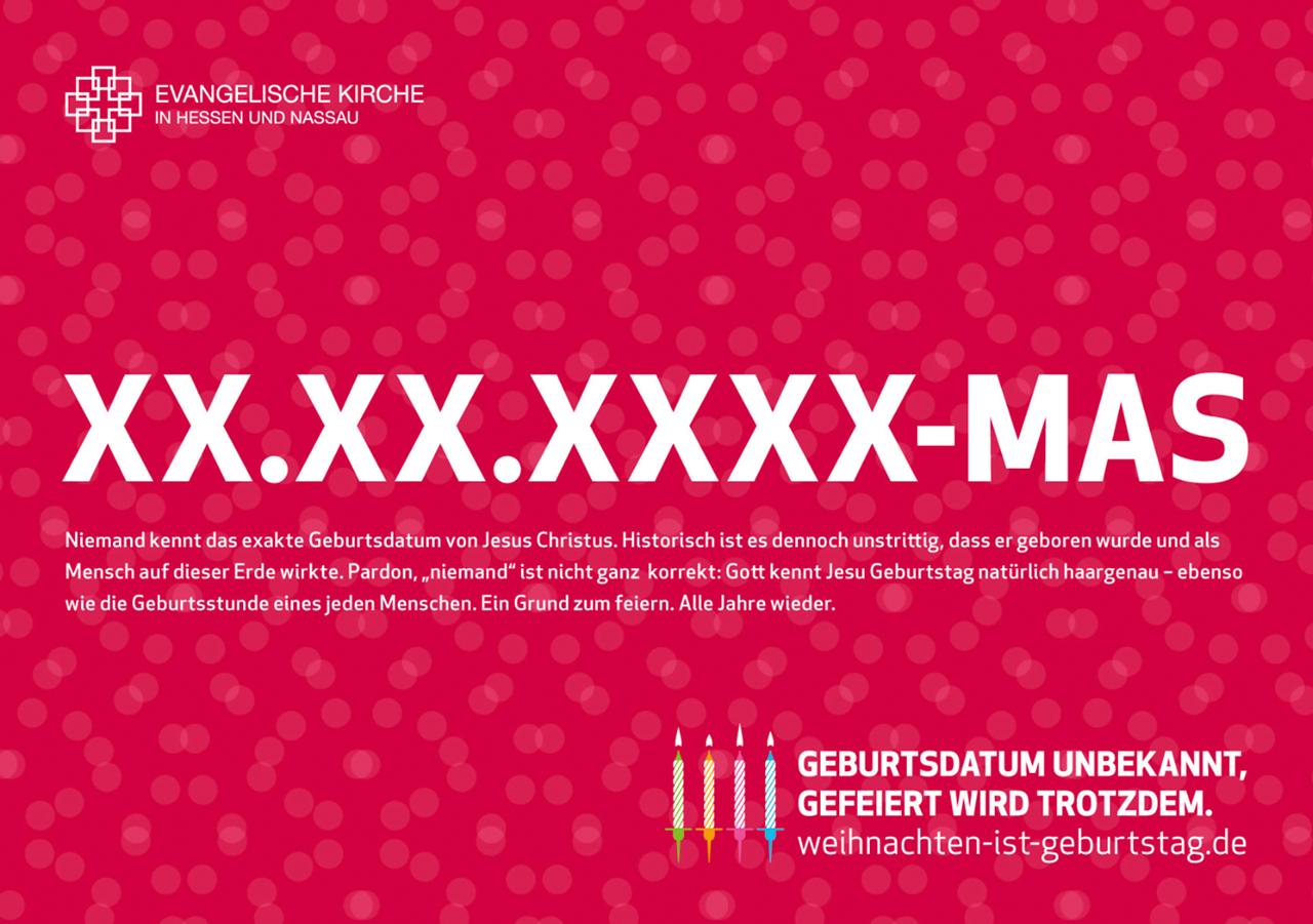 EKHN Impulspost - Merry Birthday ©gobasil GmbH ~ Agentur für Kommunikation, Hamburg Hannover