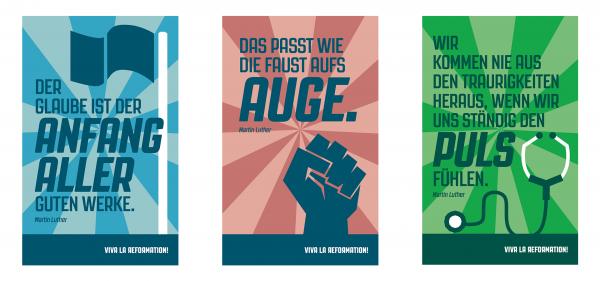 Viva la Reformation ©gobasil ~ Agentur für Kommunikation, Hamburg Hannover