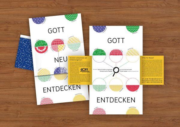 Impulspost Gott neu entdecken EKHN ©gobasil GmbH ~ Agentur für Kommunikation, Hamburg Hannover