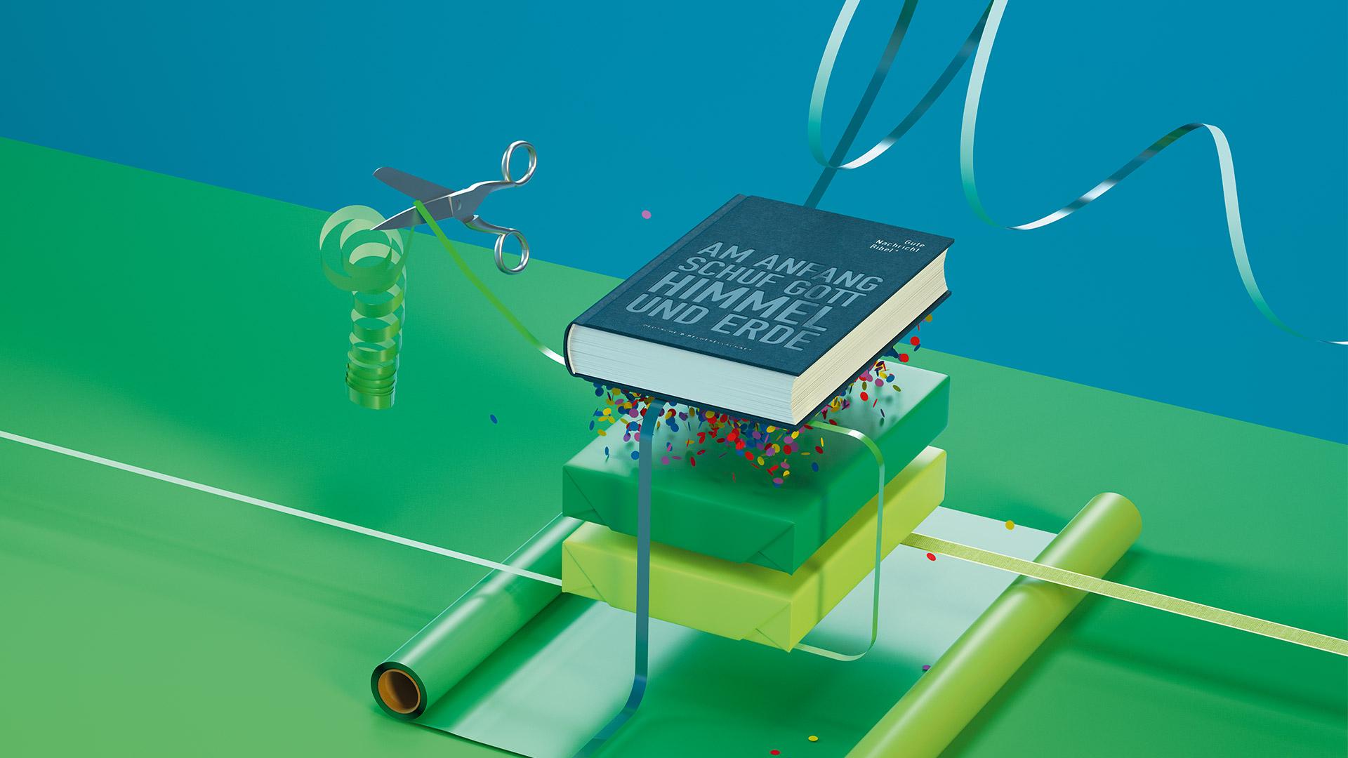 Gute Nachricht Bibel Stiftung Deutsche Bibelgesellschaft ©gobasil GmbH ~ Agentur für Kommunikation, Hamburg Hannover
